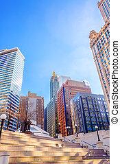 śródmieście, chicago, prospekt