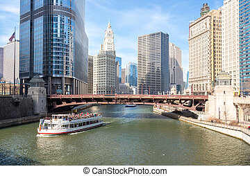 śródmieście, chicago