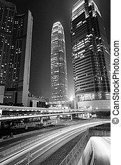 śródmieście, handel, przez, miasto