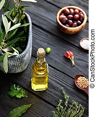śródziemnomorski, składniki