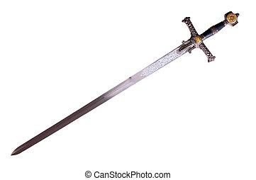 średniowieczny, miecz