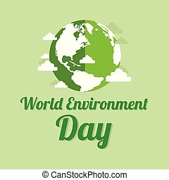 środowisko, ziemia, słowo, dzień, tło
