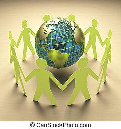 środowiskowy, podróż, handlowy, związek