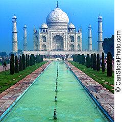 świątynia, pałac, tajmahal, taj, indianin, mahal, india.