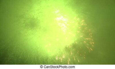 święto, fajerwerki