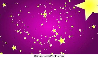 święto, gwiazdy, tło