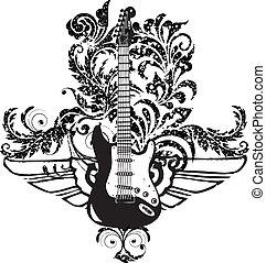 święto, muzyka, ilustracja