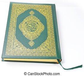 święty, przód, quran