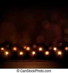 światła, boże narodzenie