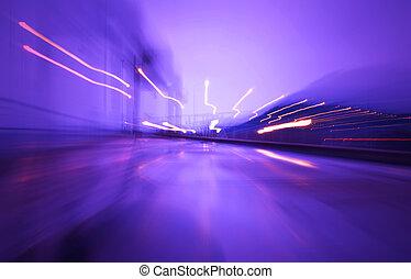 światła, szybkość