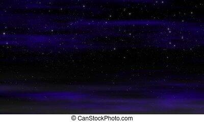 światło gwiazd, pętla