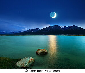 światło księżyca
