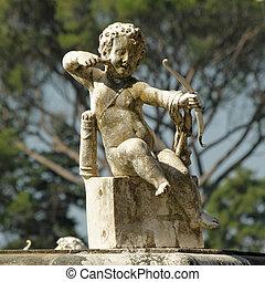 świat, -, europa, ogrody, szczegół, unesco, florencja, ...