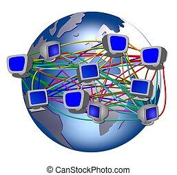 świat szeroki, sieć