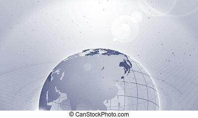 świat szeroki, ziemia, szary, pętla