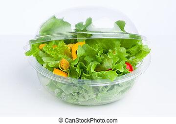 świeża zielenina, sałata
