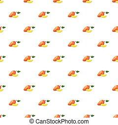 świeży, mangowiec, próbka