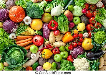 świeży plon, warzywa