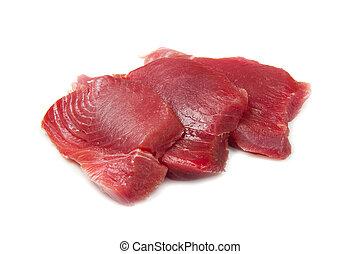 świeży tuna, filet
