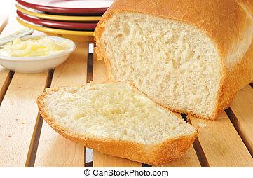 świeży upieczony, bread