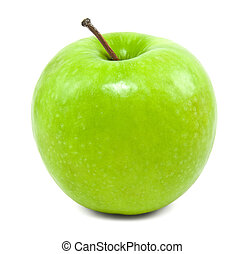 świeży, zielone jabłko