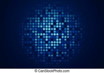 świecić, błękitny, techniczny, ilustracja, tło, wektor