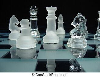 šachy, já