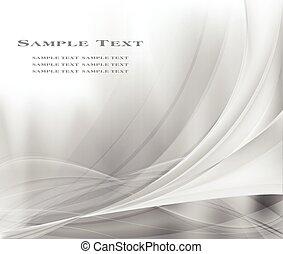 šedivý, abstraktní, grafické pozadí