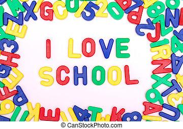škola, láska