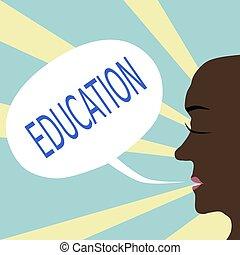 školství, pojem