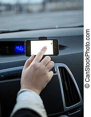 šofér, systém, blatník, samičí, pouití, navigace