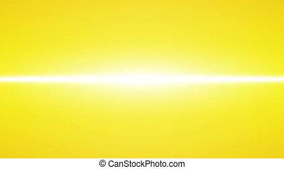 żółty, neon, kreska, skutek