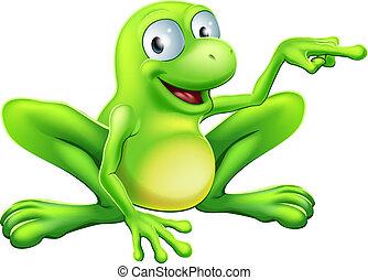 żaba, spoinowanie, ilustracja