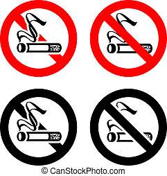 żadno palenie, symbolika