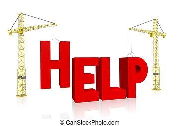 żuraw, pojęcie, -, pomoc