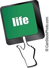 życie, pojęcie, towarzyski, -, miejsce, klucz, wejść