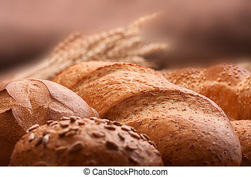 życie, wciąż, kłosie, asortyment, chleby, grono