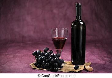 życie, wciąż, winorośl