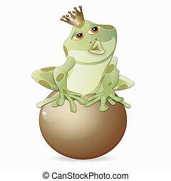 žába, král