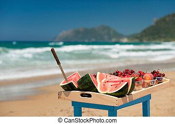 άβγαλτος ανταμοιβή , παραλία
