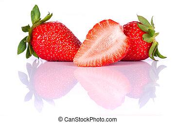 άβγαλτος φράουλα