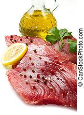 άβγαλτος tuna , φιλέτο
