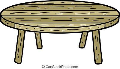 άγαρμπος βάζω στο τραπέζι , γελοιογραφία