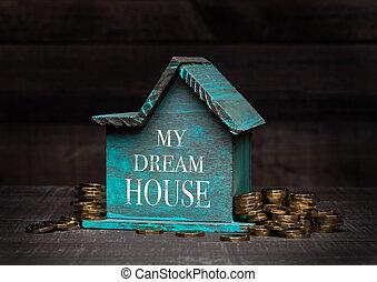 άγαρμπος εμπορικός οίκος , κέρματα , αυτό , επόμενος , μοντέλο , χέρι