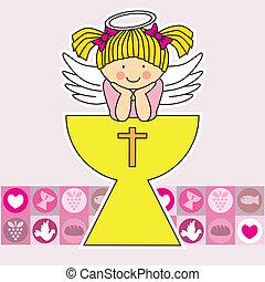 άγγελος , άγιο ποτήριο