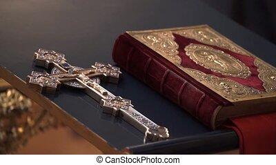άγια γραφή , βιβλίο , μέσα , εκκλησία