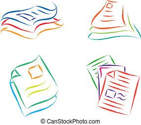 άγκιστρο για ανάρτηση εγγράφων , έγγραφο