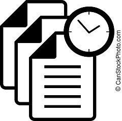 άγκιστρο για ανάρτηση εγγράφων , ρολόι , εικόνα
