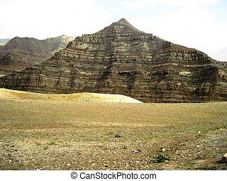 άγονος , βουνό , γη , βραχώδης