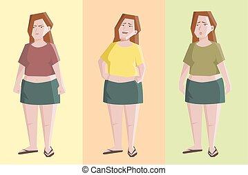 άδολος , διαφορετικός , γυναίκα , χαρακτήρας , εκφράσεις